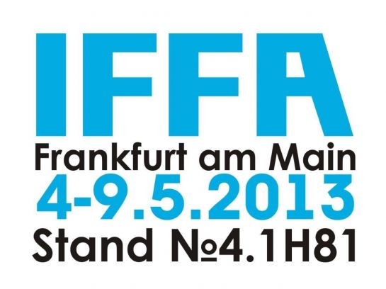 IFFA 2013. AGAIN WE INVITE YOU TO OURS!